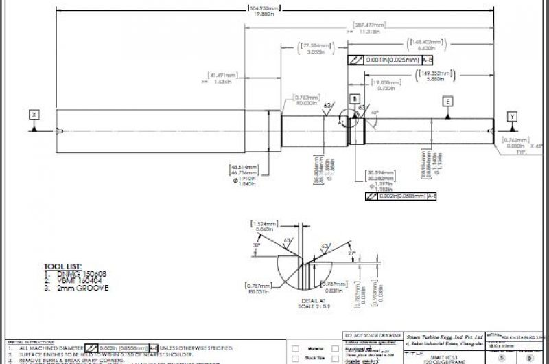process drawings